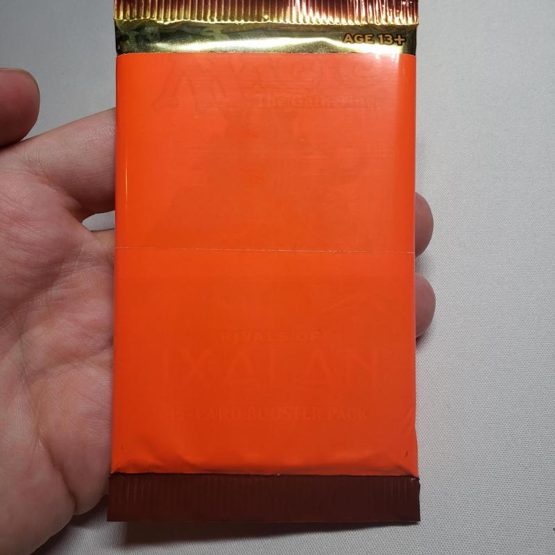 Rivals of Ixalan Sealed Booster Pack (Orange Factory Tape)